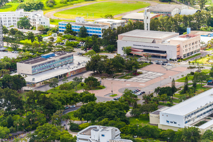 Aerial view of UFSC